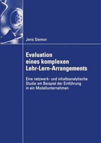 Evaluation eines komplexen lehr-lern-Arrangements