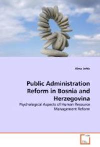 Public Administration Reform in Bosnia and Herzegovina