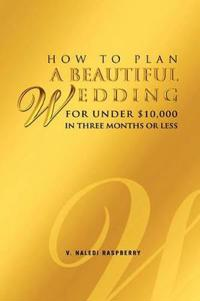 How to Plan a Beautiful Wedding for Under $10,000 in Three Months or Less