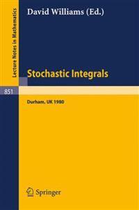 Stochastic Integrals