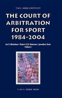 The Court of Arbitration for Sport, 1984-2004