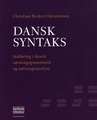 Dansk syntaks