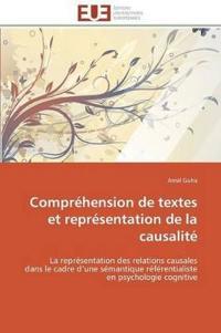 Compr�hension de Textes Et Repr�sentation de la Causalit�