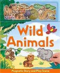 Wild Animals [With Animals Magnets]