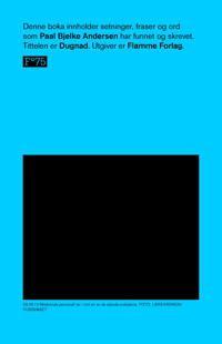 Dugnad - Paal Bjelke Andersen | Inprintwriters.org