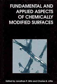 Fundamental and Applied Aspects of Chemically Modified Surfaces