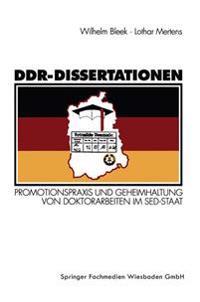 DDR-Dissertationen