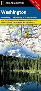National Geographic GuideMap Washington