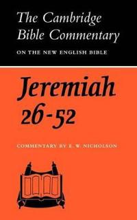 Book of the Prophet Jeremiah Chapter 26-52
