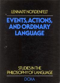Events, actions and ordinary language