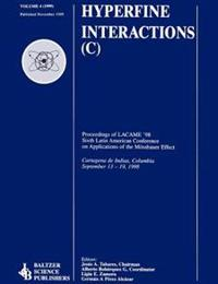 Hyperfine Interations C Proceedings of Lacme '98 Sixth Latin American Conference on Applicaitons of the Mossbauer Effect