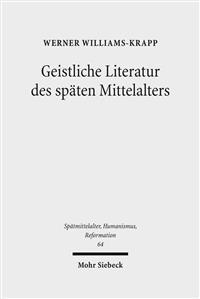 Geistliche Literatur Des Spaten Mittelalters: Kleine Schriften