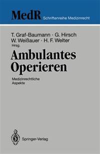 Ambulantes Operieren