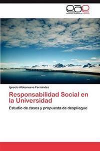 Responsabilidad Social En La Universidad