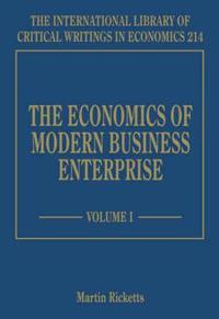 The Economics of Modern Business Enterprise