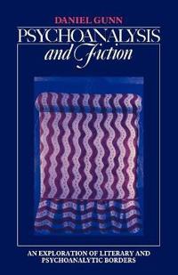 Psychoanalysis and Fiction