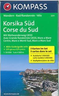 Korsika Süd 1 : 50 000