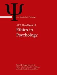 APA Handbook of Ethics in Psychology