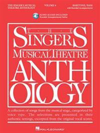 Singer's Musical Theatre Anthology - Volume 4: Baritone/Bass Book/Online Audio [With 2 CDs]