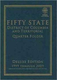 Fifty State Commemorative Quarter Folder: 1999 Through 2009, Complete Philadelphia & Denver Mint Collection