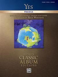 Yes -- Fragile: Piano/Vocal/Chords