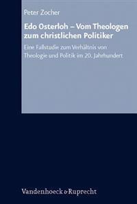 Edo Osterloh - Vom Theologen Zum Christlichen Politiker