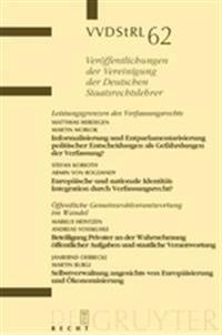 Leistungsgrenzen Des Verfassungsrechts.  ffentliche Gemeinwohlverantwortung Im Wandel