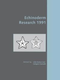 Echinoderm Research, 1991