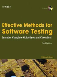 Effective Methods for Software Testing, 3rd Edition