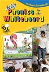 Jolly phonics for the whiteboard (site licence) - in precursive letters (be