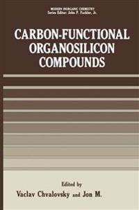 Carbon-Functional Organosilicon Compounds