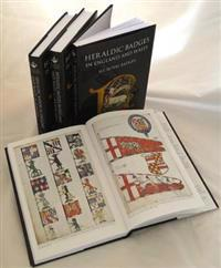 Heraldic Badges in England and Wales [4 Volume Set]