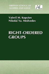 Right-Ordered Groups