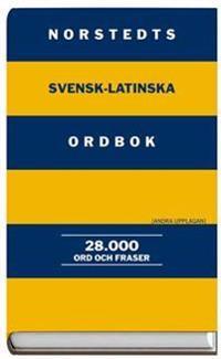 Norstedts svensk-latinska ordbok - 28.000 ord och fraser