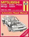 Mitsubishi Cordia, Tredia, Precis, Mirage, Galant, 1983-1993