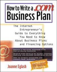 How to Write a .Com Business Plan