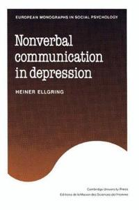 Nonverbal Communication in Depression