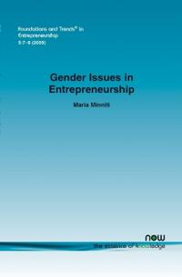 Gender Issues in Entrepreneurship