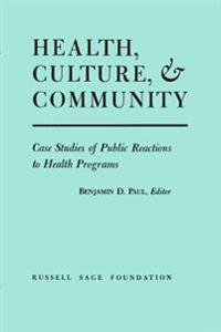 Health, Culture and Community