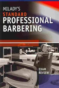Milady's Standard Professional Barbering + Student Workbook + Exam Review + Student CD Package