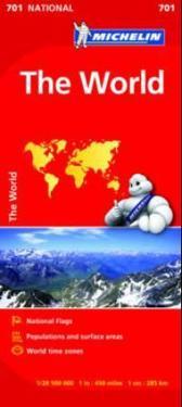 Världen Michelin 701 karta : 1:28,5milj