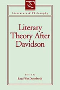 Literary Theory After Davidson