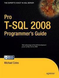 Pro T-SQL 2008 Programmer's Guide