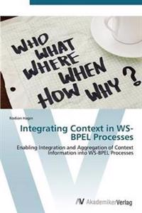 Integrating Context in Ws-Bpel Processes