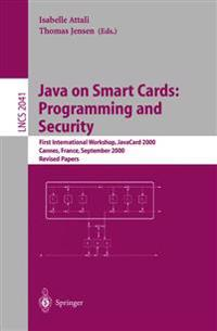 Java on Smart Cards: Programming and Security