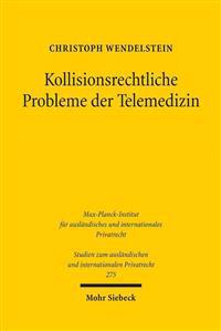 Kollisionsrechtliche Probleme Der Telemedizin