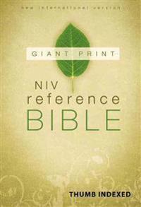 Giant Print Reference Bible-NIV