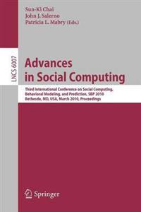 Advances in Social Computing