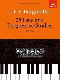 25 Easy and Progressive Studies, Op.100