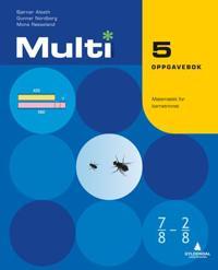 Multi 5, 2. utgave - Bjørnar Alseth, Gunnar Nordberg, Mona Røsseland pdf epub